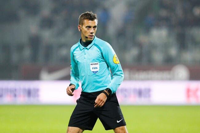 Clément Turpin au sifflet pour OL-PSG
