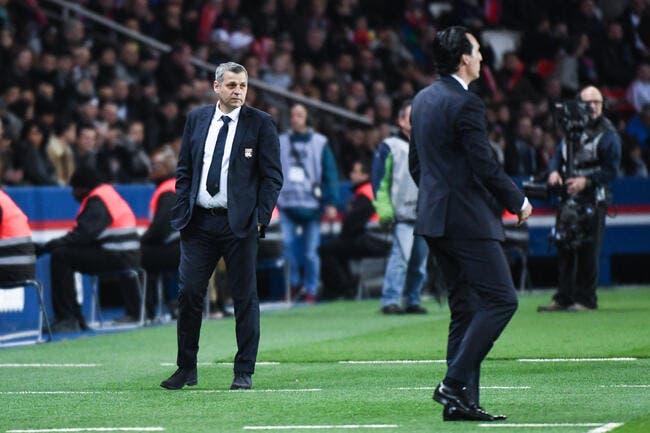 Le PSG répond à Lyon juste avant la mi-temps