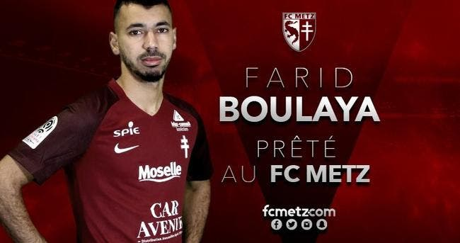 Officiel : Boulaya prêté à Metz par Girone