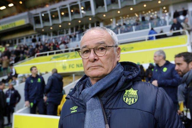 FCN : Ranieri n'est pas encore alarmiste à Nantes