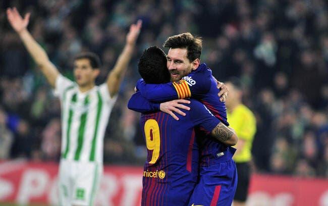 Liga : Barcelone se balade au Betis Séville