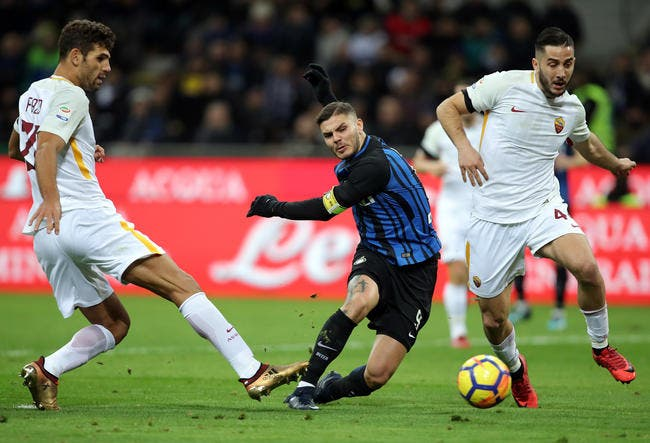 Serie A : L'Inter et l'AS Rome se quittent bons amis