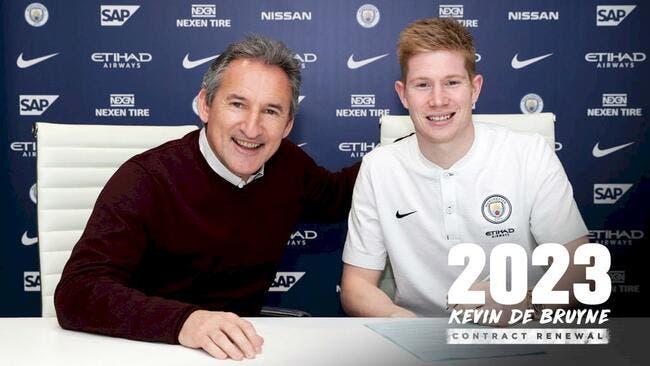 De Bruyne va prolonger — Manchester City