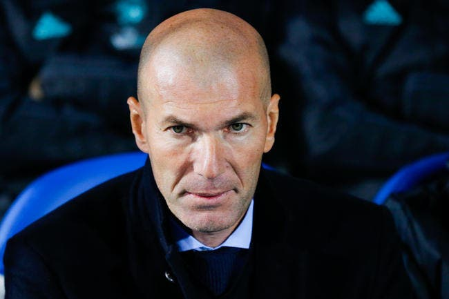 PSG : Zidane contacté par le PSG pour l'après-Emery