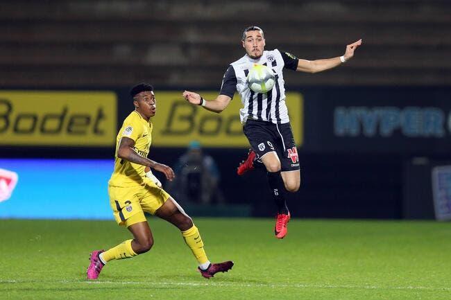 Officiel : Enzo Crivelli prêté à Caen