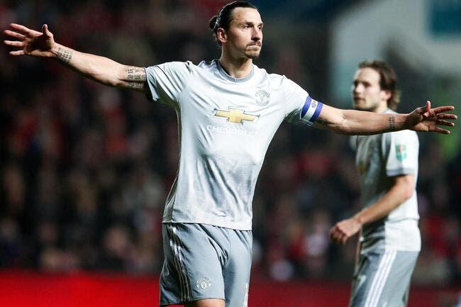 Ibrahimovic proche du LA Galaxy — Man Utd
