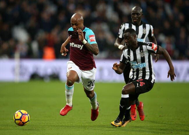 Mercato: Swansea pose 20 ME sur André Ayew
