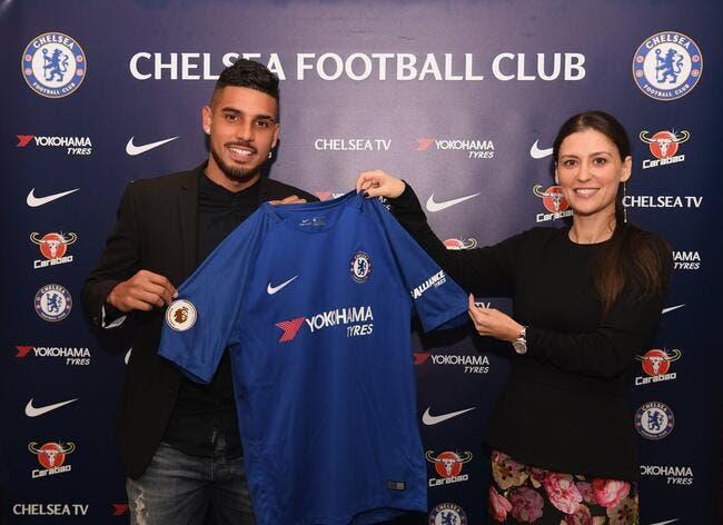 Officiel: Emerson Palmieri signe à Chelsea