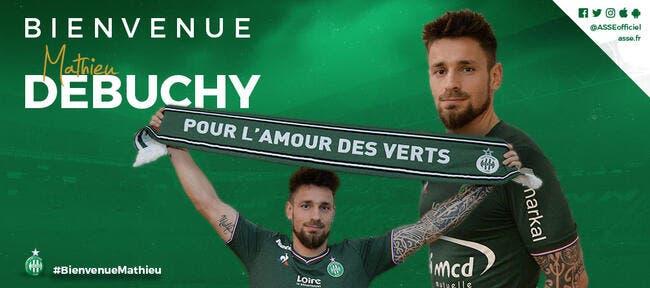 ASSE : Debuchy est officiellement un joueur de l'AS Saint-Etienne !