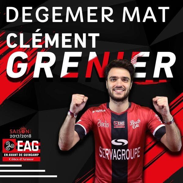 EAG : ... et Guingamp officialise la signature de Clément Grenier