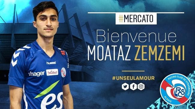 Officiel : Zemzemi rejoint Strasbourg