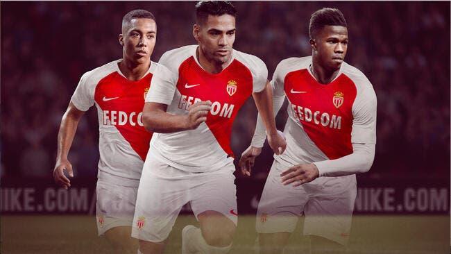 ASM : Monaco présente son nouveau maillot 2018-2019