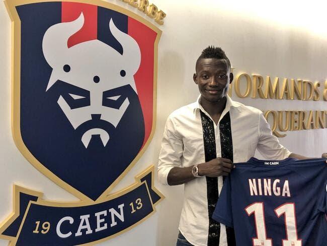 Mercato : Ninga signe jusqu'en 2022 au SM Caen