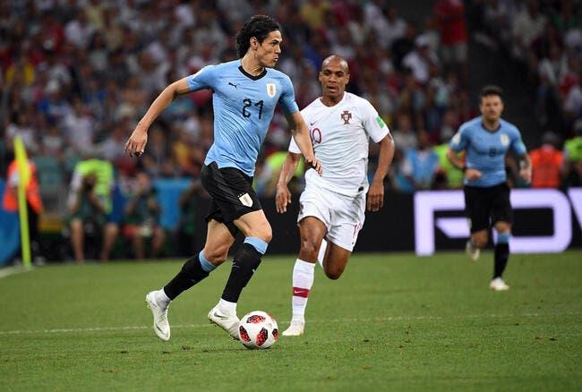 EdF : Cavani quasiment forfait pour France-Uruguay !