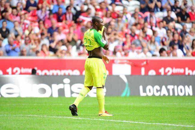 FCN: Nakoulma fait déjà la misère au nouveau coach Cardoso