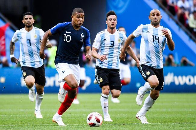 EdF: L'Uruguay ce n'est pas l'Argentine Mbappé va pleurer