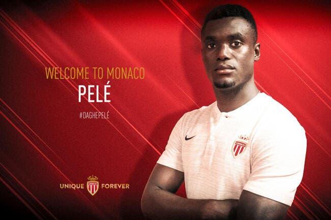 Officiel: Monaco signe Pelé pour 10 ME
