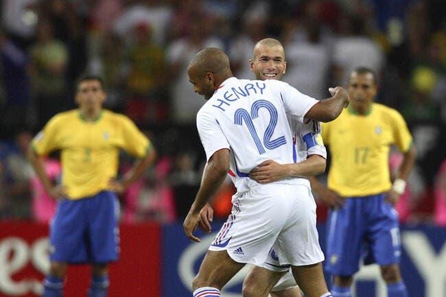 Thierry Henry, le Diable Rouge qui traumatise le Brésil