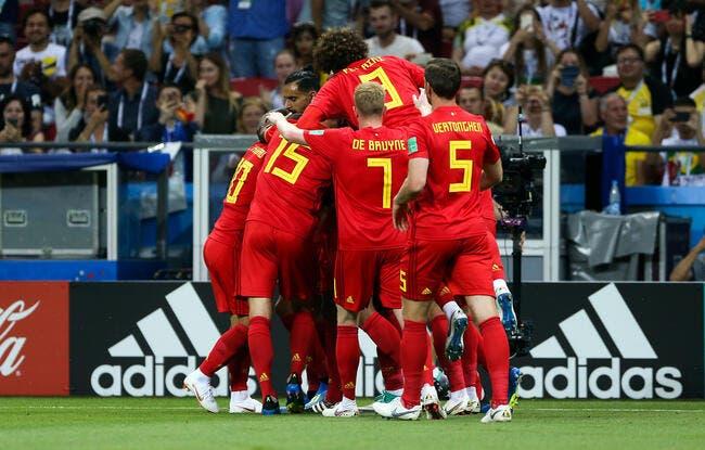 Tremblement de terre, la Belgique fait tomber le Brésil, et jouera la France