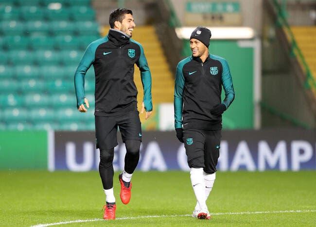 PSG : Suarez à la place de Cavani, le rêve de Neymar pour le mercato du PSG