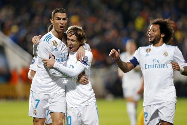 Real Madrid: Modric rêve d'un énorme bluff signé Cristiano Ronaldo