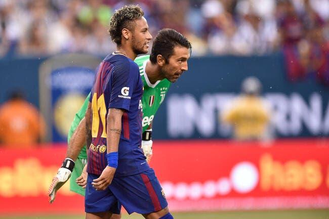 PSG : Buffon parle de la saison ratée de Neymar
