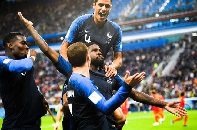 Mondial 2018 de football: Umtiti envoie la France en finale