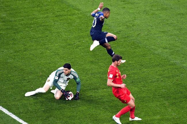 EdF : Courtois dégoûté par le jeu ultra-défensif de la France