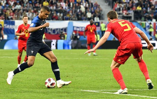 L'incroyable passe venue d'ailleurs de Mbappé pour Giroud