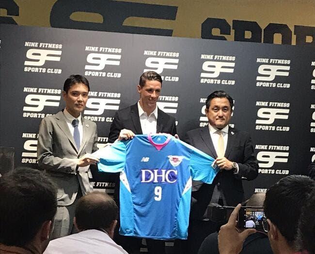 Mercato: Fernando Torres signe au Sagan Tosu
