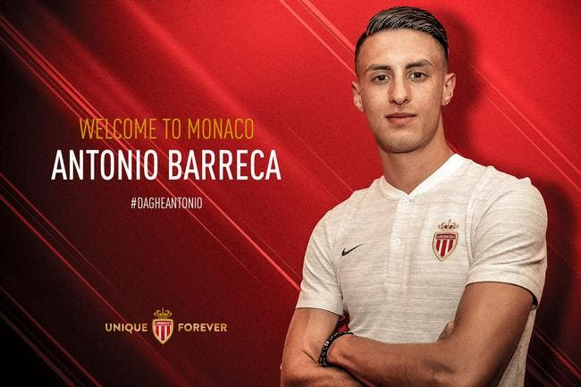 Officiel : Antonio Barreca signe à Monaco