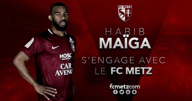 Officiel : L'ASSE prête Maïga à Metz avec option d'achat