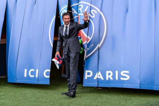 PSG: L'accueil à l'italienne de Buffon à Paris