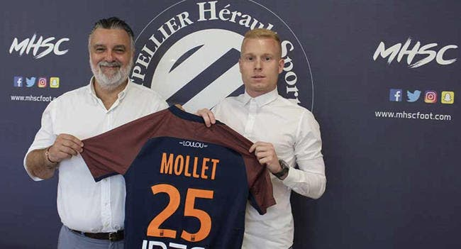 Mercato : Montpellier s'offre Mollet