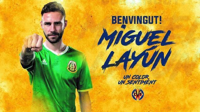 Officiel : Pisté par l'OM, Miguel Layun signe à Villarreal