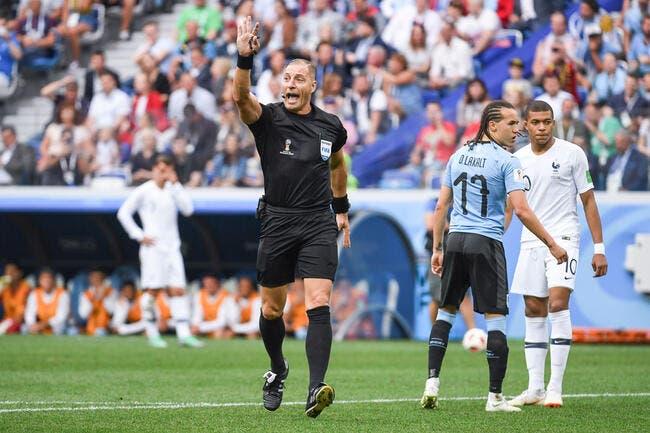 CdM 2018 : Un arbitre argentin pour la finale France-Croatie