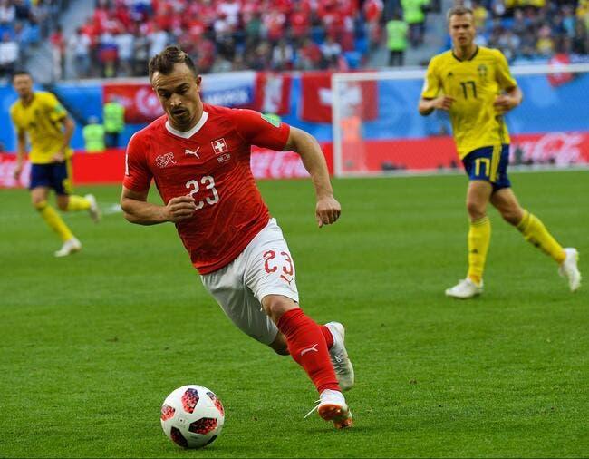 Liverpool en discussion pour Xherdan Shaqiri (Stoke City) — Mercato