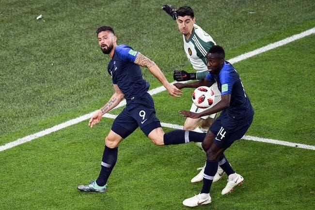 Belgique : Courtois reconnaît y être allé trop fort contre la France