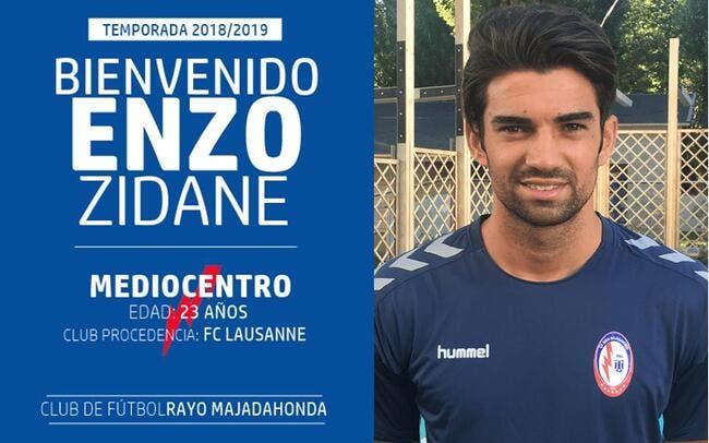 Mercato : Enzo Zidane bouge encore, cette fois il revient en Espagne