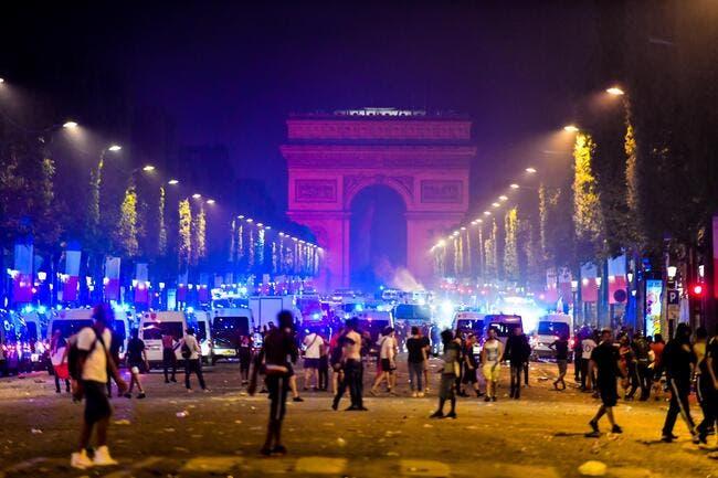 Les Bleus champions du monde ont atterri à Paris