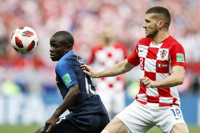 EdF : Kanté était malade lors de la finale France-Croatie