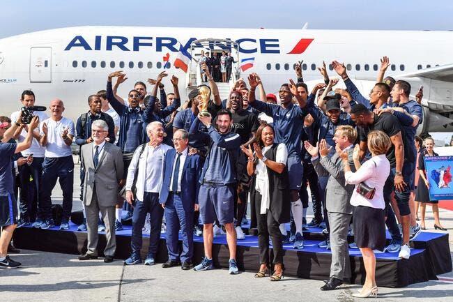 EdF : Les Champions du monde sont arrivés à Paris !
