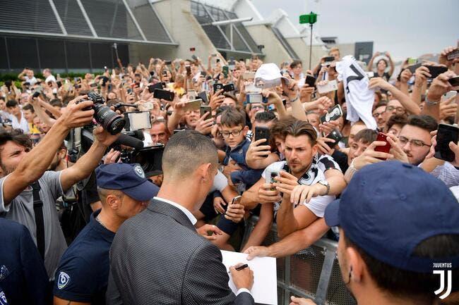 Ita : Et pendant ce temps, Cristiano Ronaldo déclenche la folie à la Juventus
