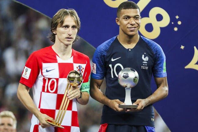 Officiel : La FIFA dévoile le onze-type du Mondial 2018