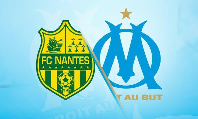 Nantes - OM : Les compos (19h30 sur Canal+ Sport)