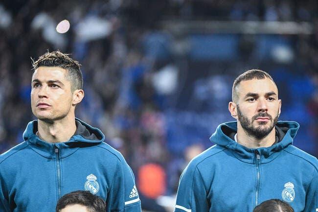 Real : Benzema désigné comme le futur Cristiano Ronaldo