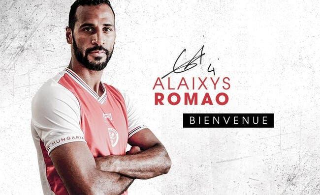 L1 : Romao revient en L1 et signe à Reims
