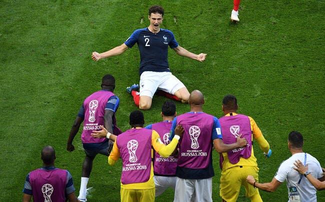 EdF : Benjamin Pavard, sa frappe de «bâtard» élue but du Mondial 2018 !