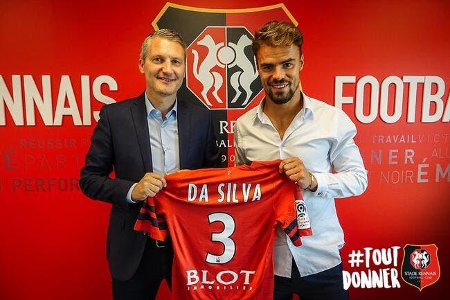 Officiel: Da Silva signe à Rennes pour faire oublier Gnagnon