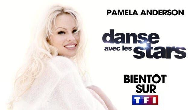TF : La compagne d'Adil Rami dit oui, Pamela Anderson à Danse avec les Stars !